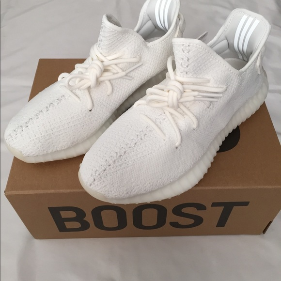 9abe376a6 Adidas Yeezy Boost 350 V2 Triple White Shoes